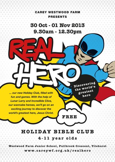 Real Hero Poster