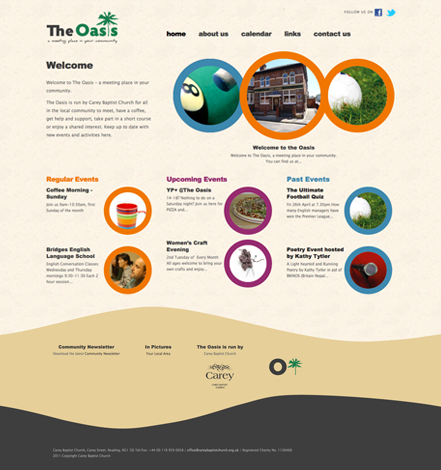 The Oasis Website