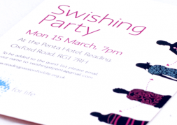 Swishing Event Flyer