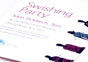 Swishing Event Flyer