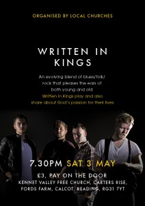 Written in Kings gig, A Passion for Life Reading