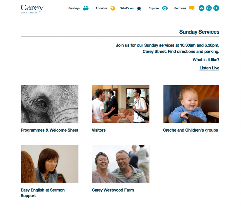 Carey Website Services