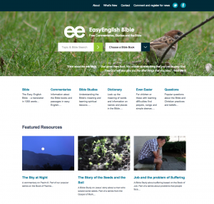 EasyEnglish Homepage